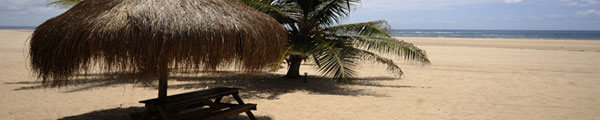Barra beach Mozambique