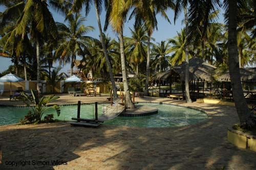 Barra Lodge near Inhambane Mozambique