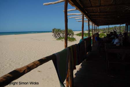 Self Catering at Barra near Inhambane Mozambique