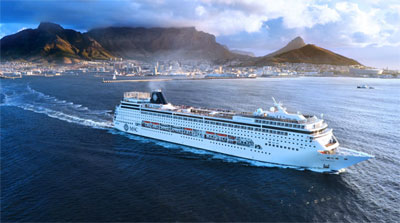 Msc Cruises On The Msc Opera And The Msc Sinfonia Cruises To - Cruise ship packages south africa